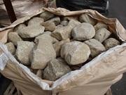 耳納石(野面積石)